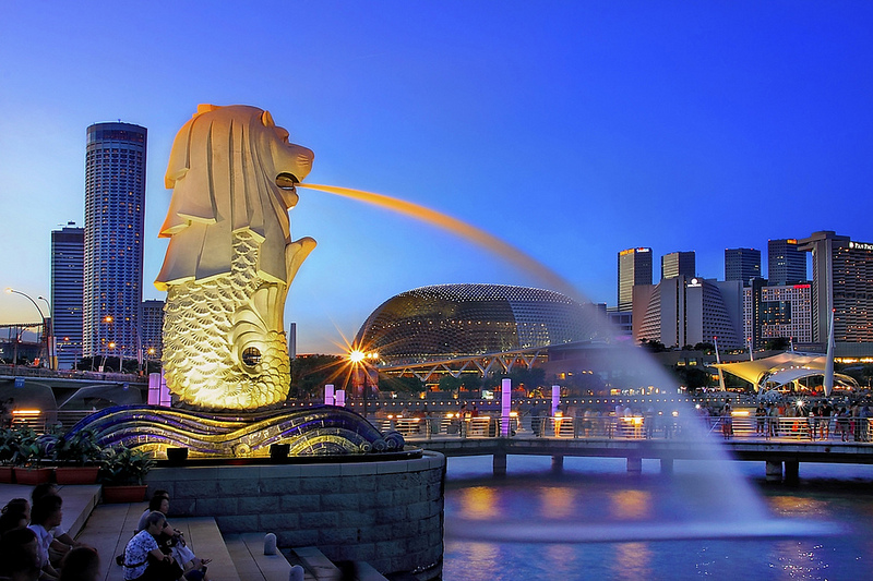 MERLION PARK – RESORT WORLD SENTOSA – GARDEN BY THE BAY